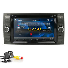 Fit Ford Fiesta Focus Transit Car DVD Player GPS Stereo Radio AM FM RDS DAB Sat