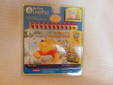 My First LeapPad Disney Pooh's Honey Tree Flip Book & Cartridge Brand New