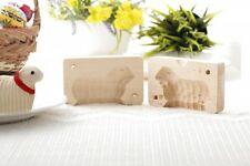 Traditional Easter Wooden Butter Lamb Mold, Medium
