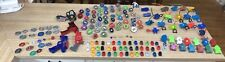 Huge Lot Of Beyblade Metal Fusion/Masters Spinners And Launchers