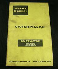 CAT Caterpillar D8 Tractor Service Shop Repair Manual 36A 46A