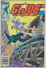 GI JOE#27 VF 1984 NEWSTAND EDITION MARVEL COMICS