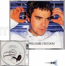 "ROBBIE WILLIAMS TAKE THAT ""FREEDOM"" RARE CDsingle ITALY"