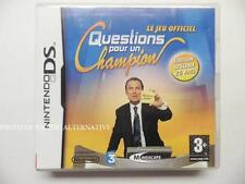 jeu QUESTIONS POUR UN CHAMPION sur nintendo DS en francais game spiel COMPLET