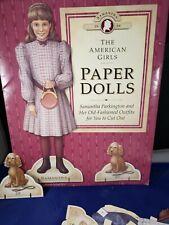 American Girl Doll's Samantha Paper Dolls