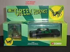 CORGI CC50902 GREEN HORNET BLACK BEAUTY DIECAST MODEL CAR + KATO FIGURE