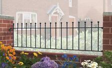 Malaca Ball Top Railing 1830mm GAP x 455mm H wrought iron metal fence panel MA03