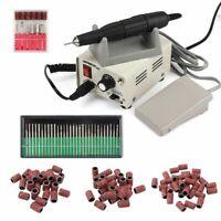 65W Electric Nail Drill Machine Set STRONG 90 Manicure Pedicure Polishing Tool