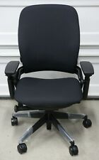 Steelcase Leap V2 Black Fabric Chair New Open Box