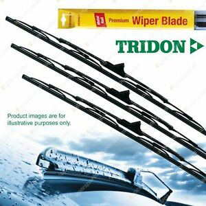Tridon Wiper Complete Blade Set for Land Rover Discovery 03/97-02/99