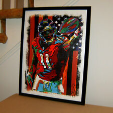 Julio Jones, Atlanta Falcons, Wide Receiver, Football, Sports, 18x24 POSTER 2