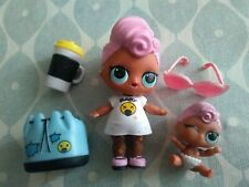 LOL Surprise Doll Big & Lil  Sister Grunge Grrrl Girl Family Bundle