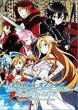 DVD Sword Art Online Season 1 - 2 + 2 OVA Collection Extra Edition + Debriefing
