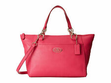 NWT Coach 35030 Mini Ellis Tote Leather handbag Pink Ruby Crossbody