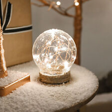 12CM INDOOR BATTERY WEDDING BEDROOM DECOR WIRE FAIRY STRING LED DOME ORB LIGHT