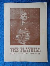A Bell For Adano - Cort Theatre Playbill - April 15th, 1945 - Frederic March