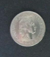 """Münze 20 Rappen Schweizer Franken 1962 """"B"""" aus Umlauf gültiges Zahlungsmittel"""