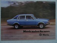 Morris brochure 1976 - Mini 850/1000,Clubman,1275GT,Marina 2 Saloon,Est,Princess