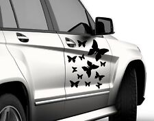 12X BUTTERFLY  CUTE VINYL DECAL STICKERS CAR VAN WALL FOR  ANY SMOOTH SURFACE