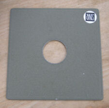 genuine Sinar Norma  F & P  lens board panel with copal compur 0  hole  35.6mm