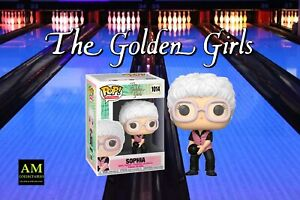 Funko Pop TV - the Golden Girls - Bowling Outfit - Sophia - Figurine - New/Boxed