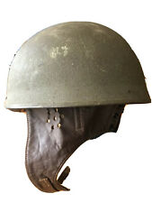 World War Two British Army Dispatch Riders Helmet - 1942 Dated BMB