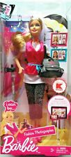 "NIB ~ Barbie Doll  ""I can be..."" Fashion Photographer ~ 2011 KMART Exclusive New"