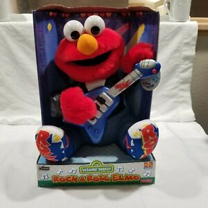 Rock N Roll Singing Elmo Sesame Street Fisher-Price NEW In Original Box 1998