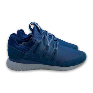 Adidas Men's Tubular Radial Shoes Dark Blue S80113 Nip Running Sneaker Size 13.5