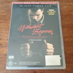 Midnight Express 20th Anniversary Collector's Edition DVD R4 Like New! FREE POST