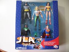 JLA: 5 action figure Gift Set DC Direct + 48 pg comic, Brand New & Sealed