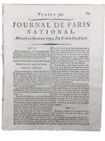 Rarissime Procès du Roi Louis 16 1792 Interrogatoire du Roi Louis Capet Bourbon