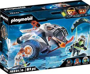 Playmobil Top Agents - 70231 Spy Team Schneegleiter - Neu & OVP