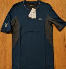 Mens Authentic Lacoste Sport Performance Compression T-Shirt Blue 7 (2XL) $85