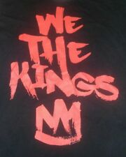 We the Kings 2012 End of the World Concert T-Shirt Size M