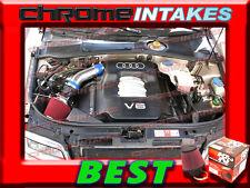 95 96 97 98 99 00 01 AUDI A4 A6 A 4/6 BASE/QUATTRO 2.8 2.8L V6 AIR INTAKE+K&N FT