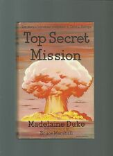 RARE/AUTHOR SIGNED/DUKE/TOP SECRET MISSION/WW2/NAZI/ESPIONAGE/SS/SPY/1st ED HB