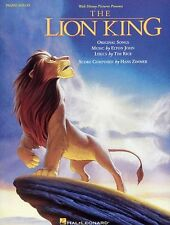 The Lion King Piano Solos Learn to Play Elton John Pop Rock Music Book