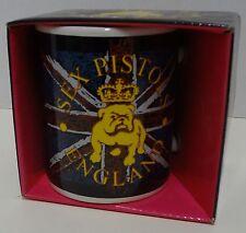 """Sex Pistols """"Bulldog Logo England Flag"""" Coffee Mug Ceramic New in Box"""
