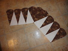 Plastic Templates-Cone Border for quilts