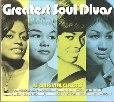 GREATEST SOUL DIVAS - 3 CD BOX SET - ETTA JAMES * MARY WELLS & MANY MORE