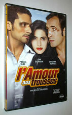 DVD L'AMOUR AUX TROUSSES - JEAN DUJARDIN / PASCAL ELBE / CATERINA MURINO -