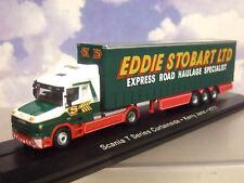 Atlas / Oxford 1/76 Eddie Stobart Scania T Serie Taxi / Lona Trlr Kerry Jane