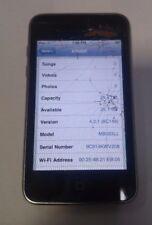 Apple iPod Touch - 2nd Gen Black - 32 GB  Model A1288 - Read Below
