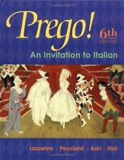 Prego! An Invitation to Italian (Student Edition), Lazzarino, Graziana, Aski, Ja