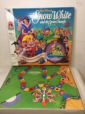 Walt Disney's Snow White & The 7 Dwarfs Game By Milton Bradley Vintage 3D Board