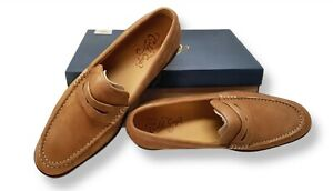 sperry top Sider gold cup size  9 slip on suede loafers brown