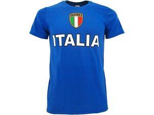 T-shirt Italia Maglia Maglietta Azzurri Azzurra Nazionale