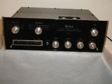 Mcintosh C26 Vintage Stereo Preamplifier With Original Manuals & Shipping Carton