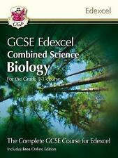 CGP GCSE Edexcel Combined Science Biology. Grade 9-1 Course. New